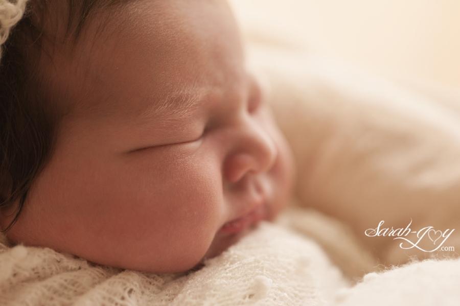 Close up newborn baby photo melbourne
