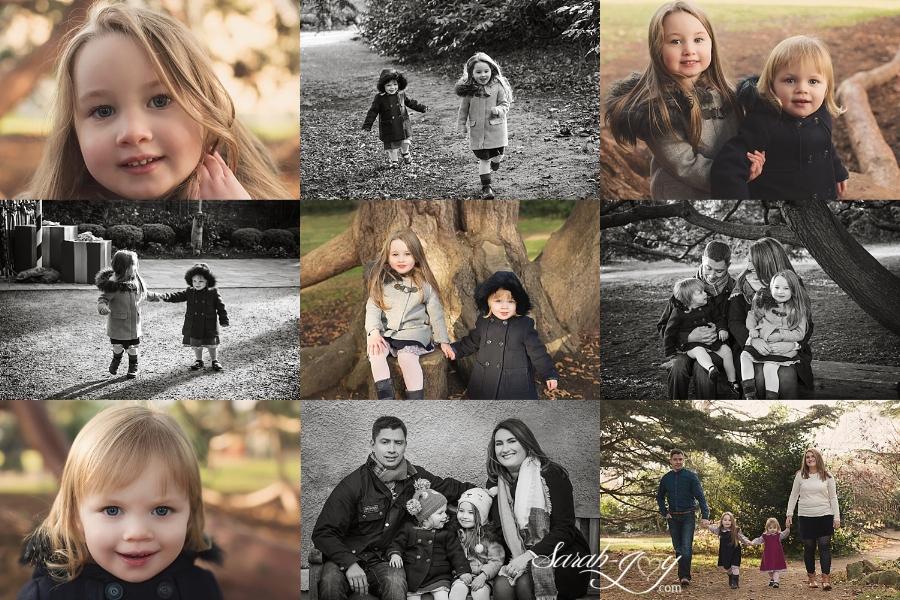 Melbourne family photo collage