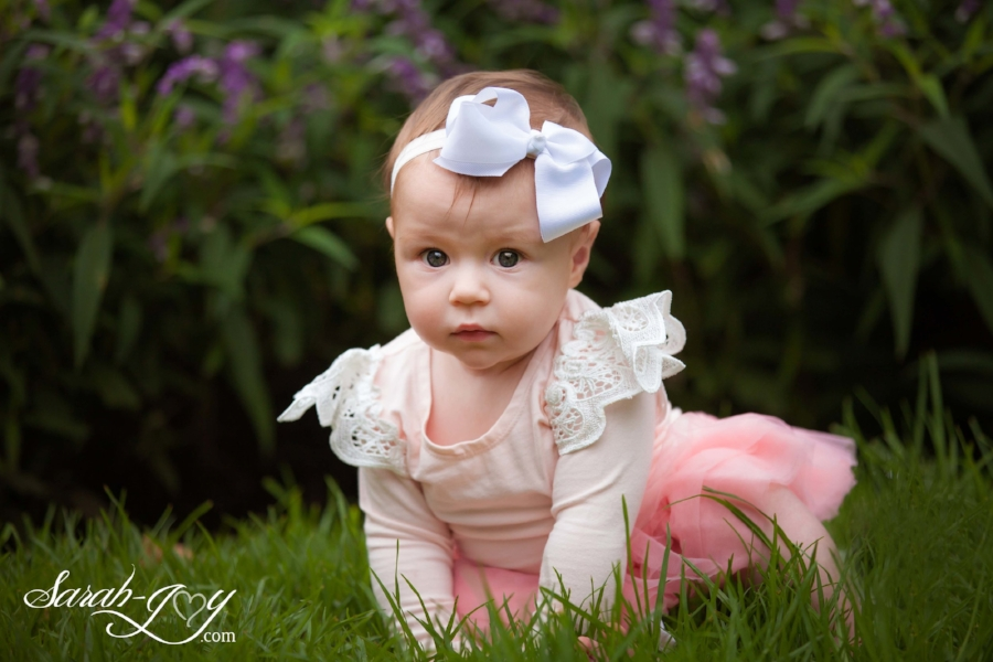 baby in grass for Melbourne photo shoot