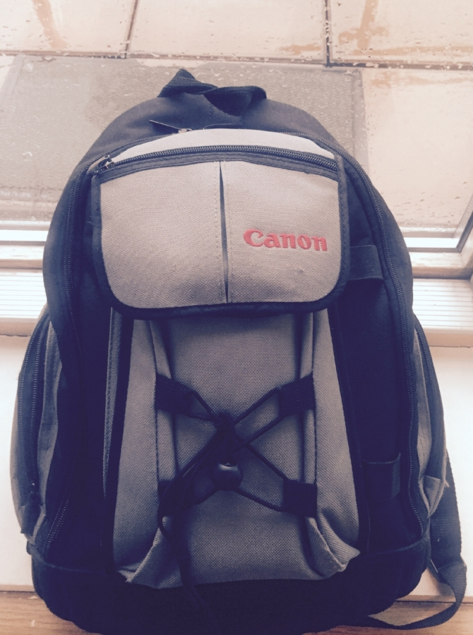 My cheap and cheerful Canon backpack