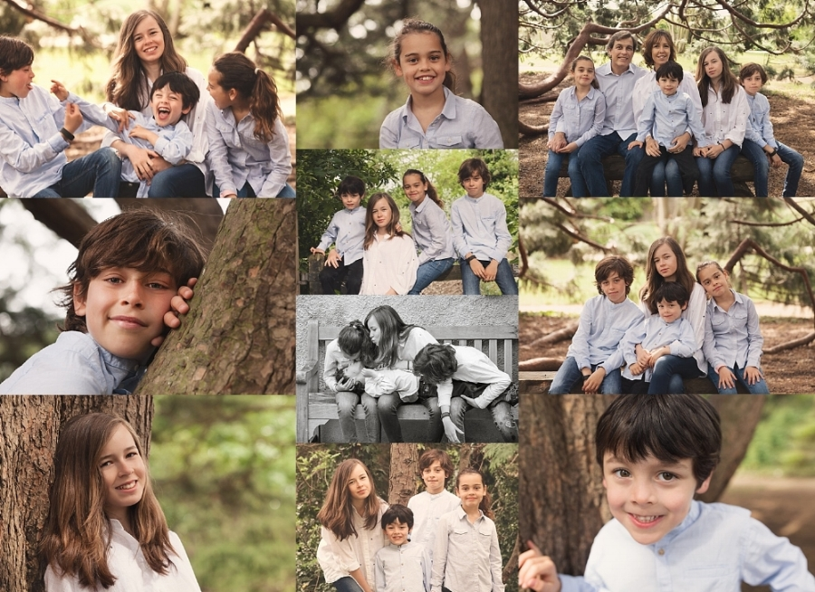 Collage melbourne Family Photo Session