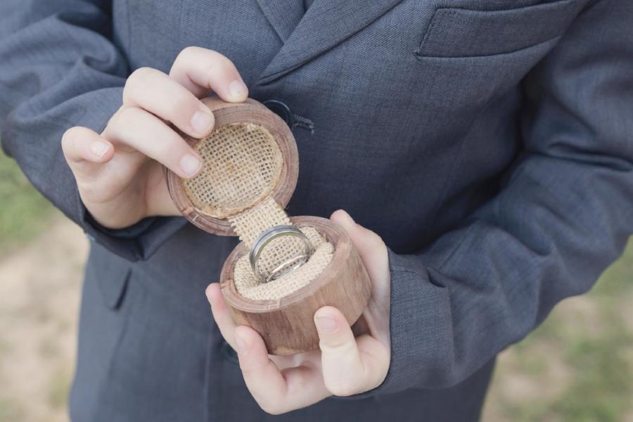 melbourne Wedding Photo of ring bearer