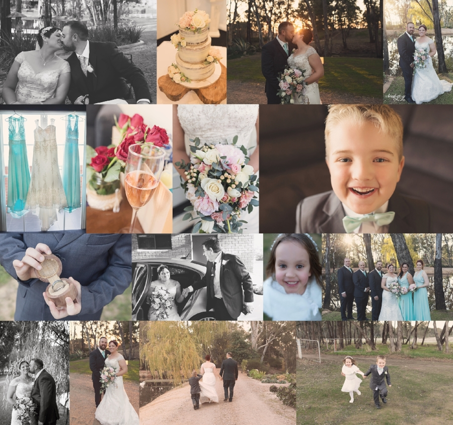 melbourne Wedding Photography Collage