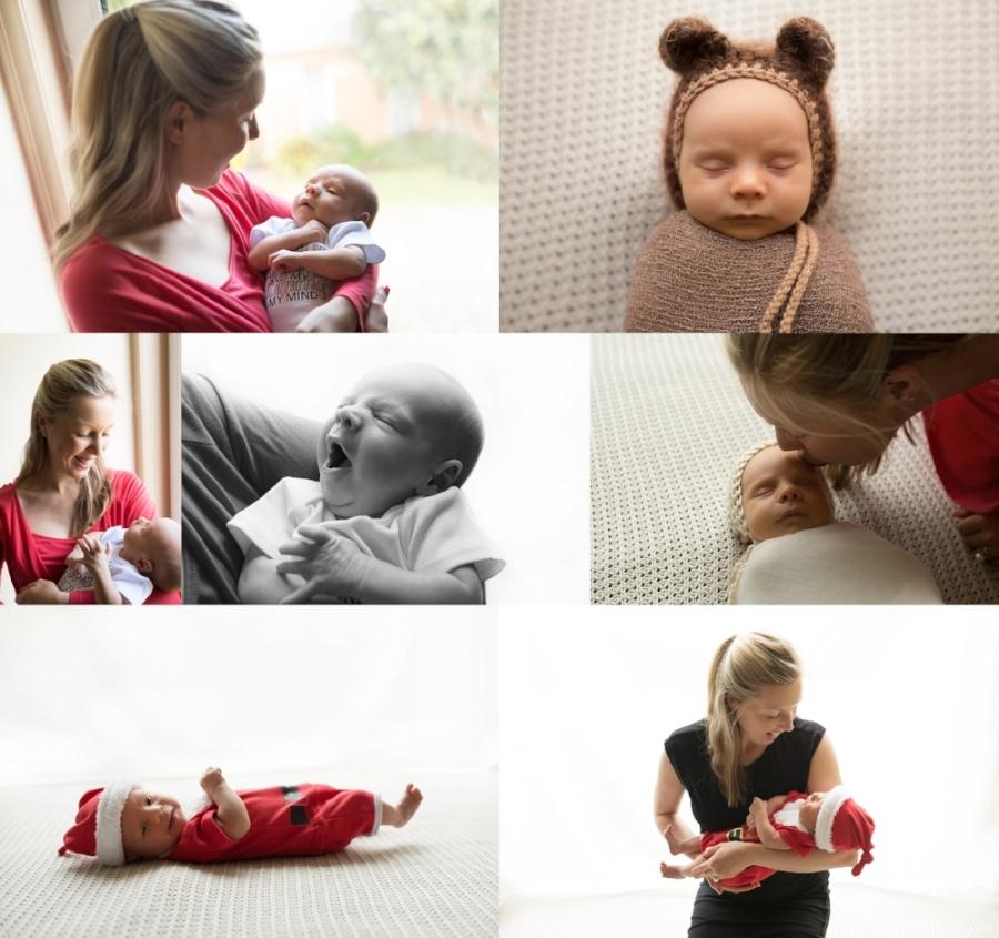 newborn baby boy collage melbourne