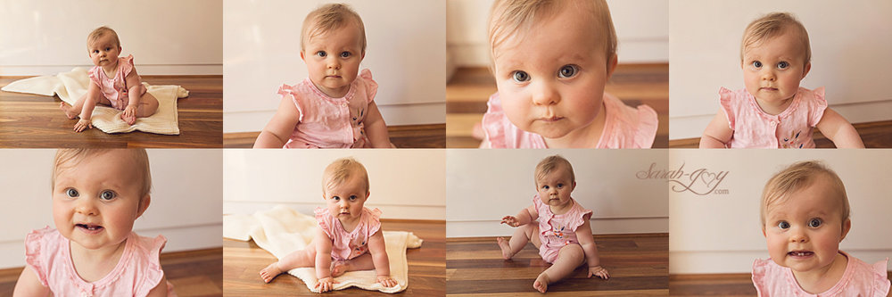Melbourne Baby Photoshoot Collage