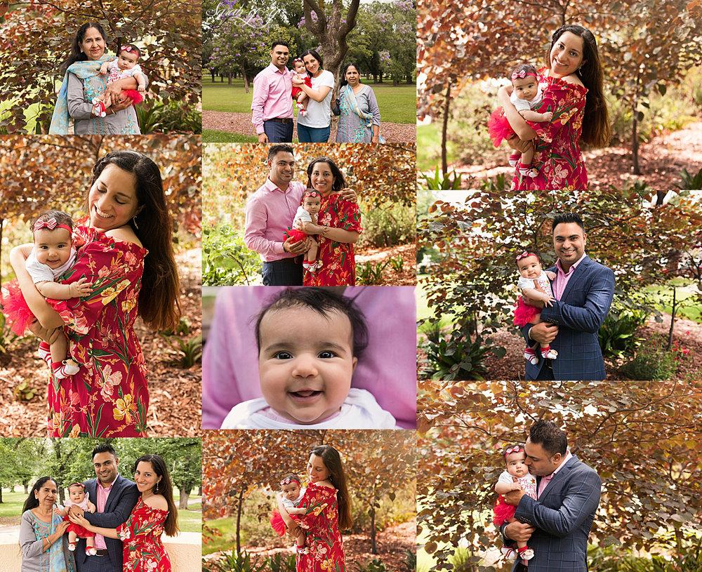 natural outdoor family photo shoot