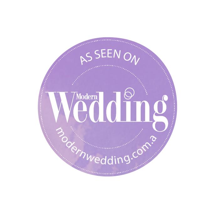 As seen on Modern Wedding Magazine