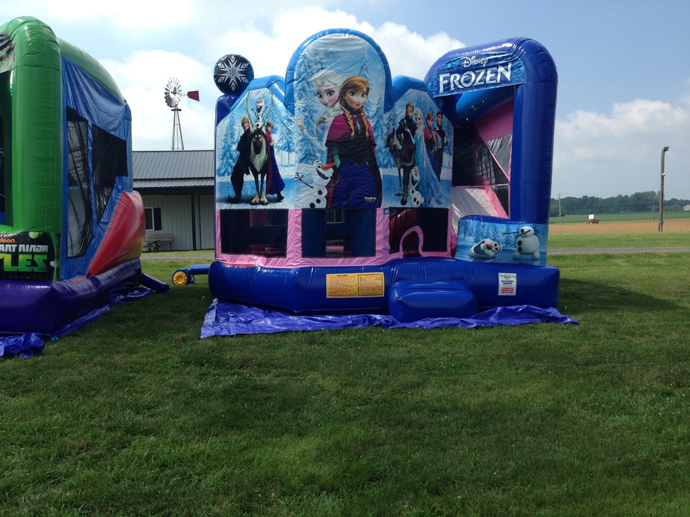 'Frozen' 5-in-1 moon bounce