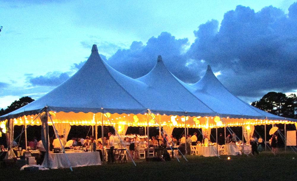 40u0027 x 80u0027 with lights & Century Pole Tent Gallery u2014 Baileyu0027s Party Rentals
