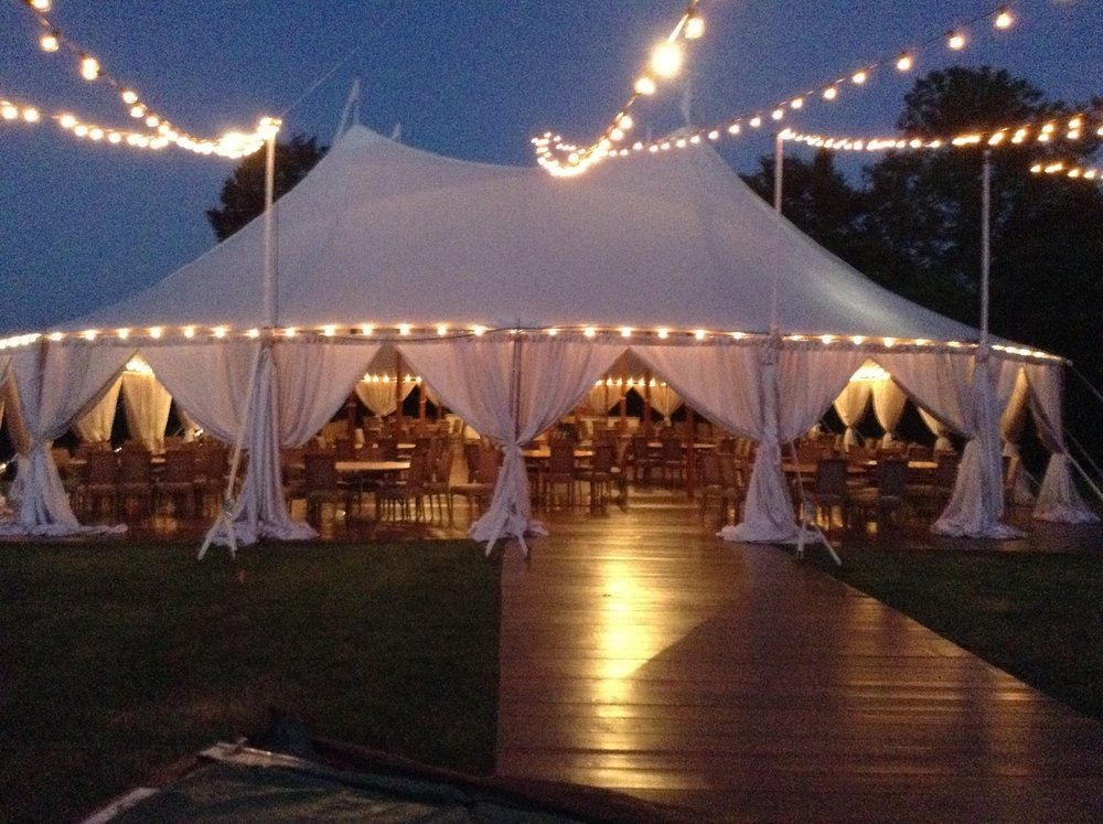 Sailcloth tent 59u0027 x ... & Aurora Sailcloth Tent Gallery u2014 Baileyu0027s Party Rentals