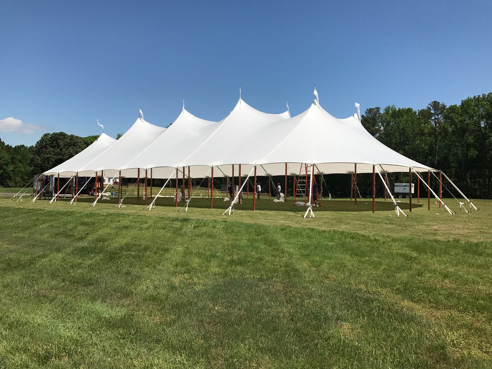 Sailcloth tent 59u0027 x 99u0027 & Aurora Sailcloth Tent Gallery u2014 Baileyu0027s Party Rentals