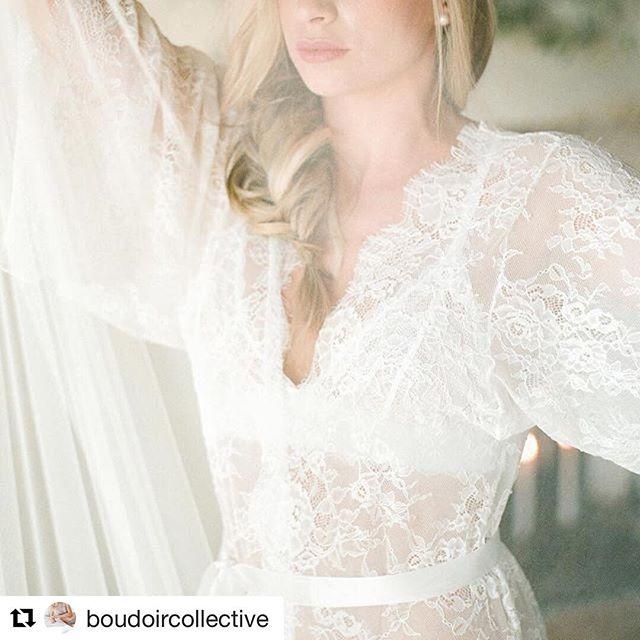 #Repost @boudoircollective (@get_repost) ・・・ The best part of bridal boudoir is the veil. // Photographer: @gerthuygaerts // Planner/Stylist: @wanderlustwedding // Lace Gown: @mespetitesdentelles // Veil: @sibodesigns // Venue: @hameaudesbaux // Shoes: @bellabelleshoes // Hair: @marielesciseauxdemarie // Makeup: @marine.dbv // Rings: @alice_workshop // Film Lab: @carmencitalab