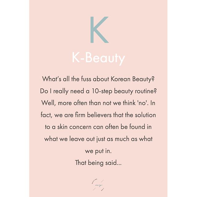 ...there are certainly elements of a Korean beauty #regime that we absolutely #love and when you break down the 10-step routine there are many steps we do already without thinking.  1. First Cleanse/Make-Up Remover - 2. Second Cleanse - 3. Exfoliate - 4. Tone - 5. Treatment Essence - 6. Serum - 7. Sheet Mask - 8. Eye Cream - 9. Sleep Mask/Moisturiser - 10. SPF . K-beauty has also brought tons of refreshing Korean skincare brands to the forefront which we often reach for when designing some of our routines. Here are some that we adore - which ones do you love? . . . . . . #kbeauty #koreanskincare #sundayvibes #sundaymorning #selfcaresunday #sundaymood #sundays #cleanskin #skincareconsultant #skincaretips #skincareroutine #skincareaddiction #skinaddicts #simpleskincare #beautyroutine #beautytips #beautyjunkie #bespokeskincare #customised #custommade #personalservice #facial #skincareguru #productreview #skincarereview #independent #skincareadvice #myroutineedit