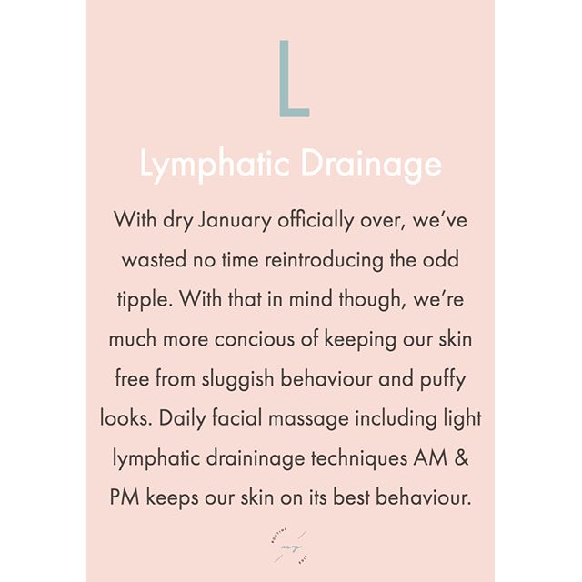 What is lymphatic drainage anyway❔❔❔ Well, the main function of the lymphatic system is to defend the body from bacteria & foreign bodies preventing any infection. It also drains away any excess fluid from the body. As the system is not powered by a muscular pump like the heart, it relies on muscular contractions in the body and can often become sluggish. On the face, this can result in puffiness and noticeable fluid around the eye area. Helping the lymph move towards the heart by introducing very light facial drainage techniques can be helpful to prevent this. . . . . . #wednesdaywisdom #wednesdaymotivation #wednesday #facial #massage #lymphaticdrainage #guasha #jaderoller #nutrition #love #happy #personalcoach #dailyinspiration #worthit #swearby #home #beauty #skin #skinroutine #skincareroutine #skincareobsessed #beautyadvice #tips #skincareadvice #productrecommendations #healthyskin #personalised #bestbeauty #bestskincare #skincarecommunity