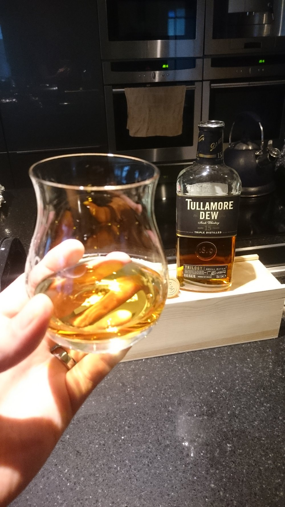 Tullamore Dew 15 year old, beaut!