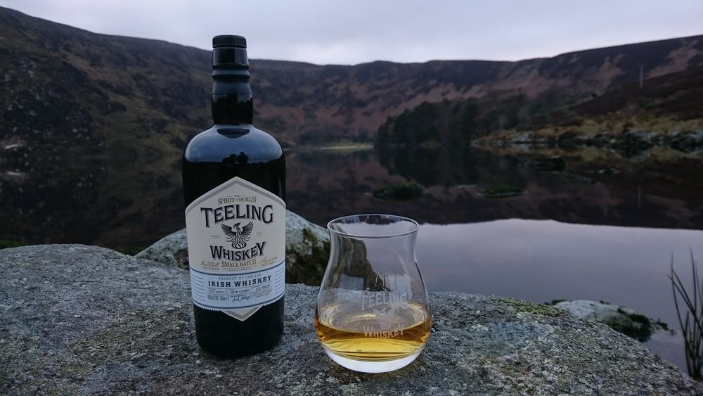 Clearly I have a thing for taking photos of drink at this lake. Teeling small batch looking seductive in this backdrop.