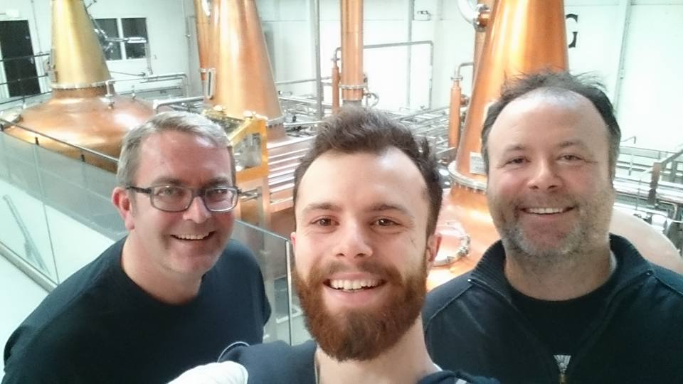 Teeling tour with Dad and Uncle Matt
