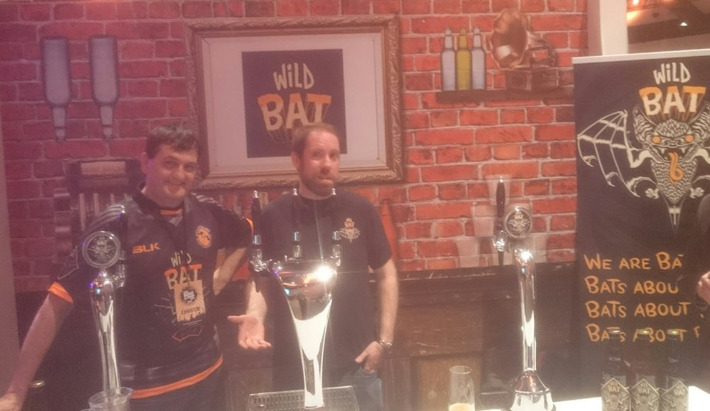 Paul and Enda from Wild Bat