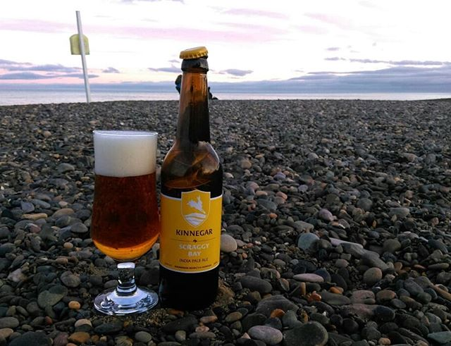 Would you like some beer with your hops?  Kinnegar are an amazing brewery in Donegal creating fantastic beers like this Scraggy Bay India Pale Ale, it's a balanced classic, full of flavour. Read about it in my recent article, IPA overkill for @thetaste_ie linked in my bio or mozy onto thetaste.ie and find it #wouldyoulikesomebeerwithyourhops