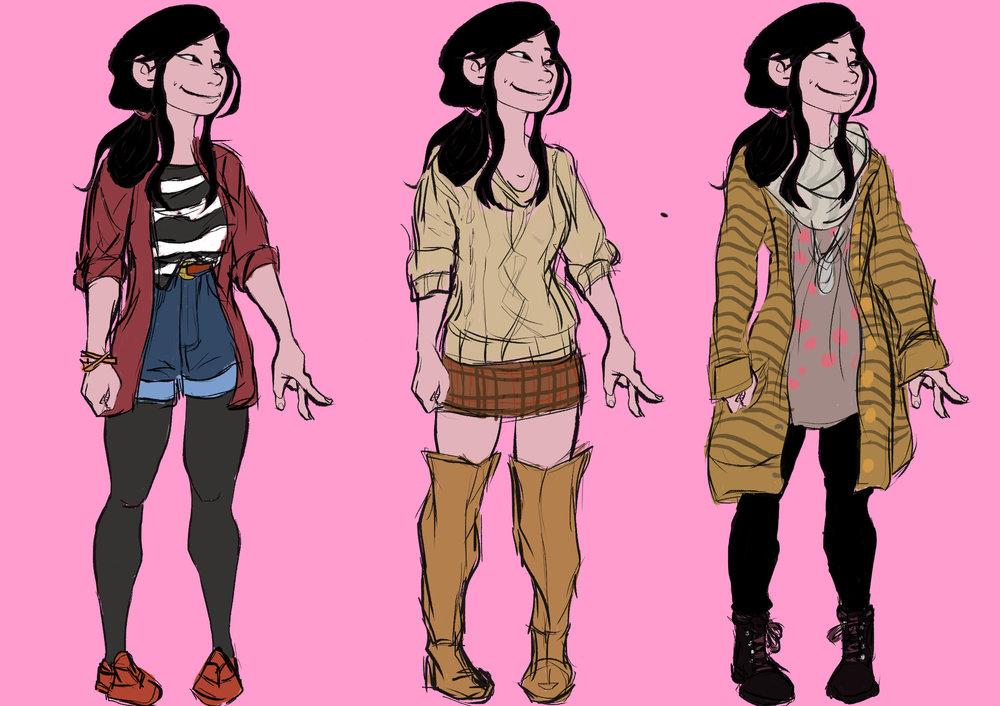 Orange 91: Kimiri Outfits