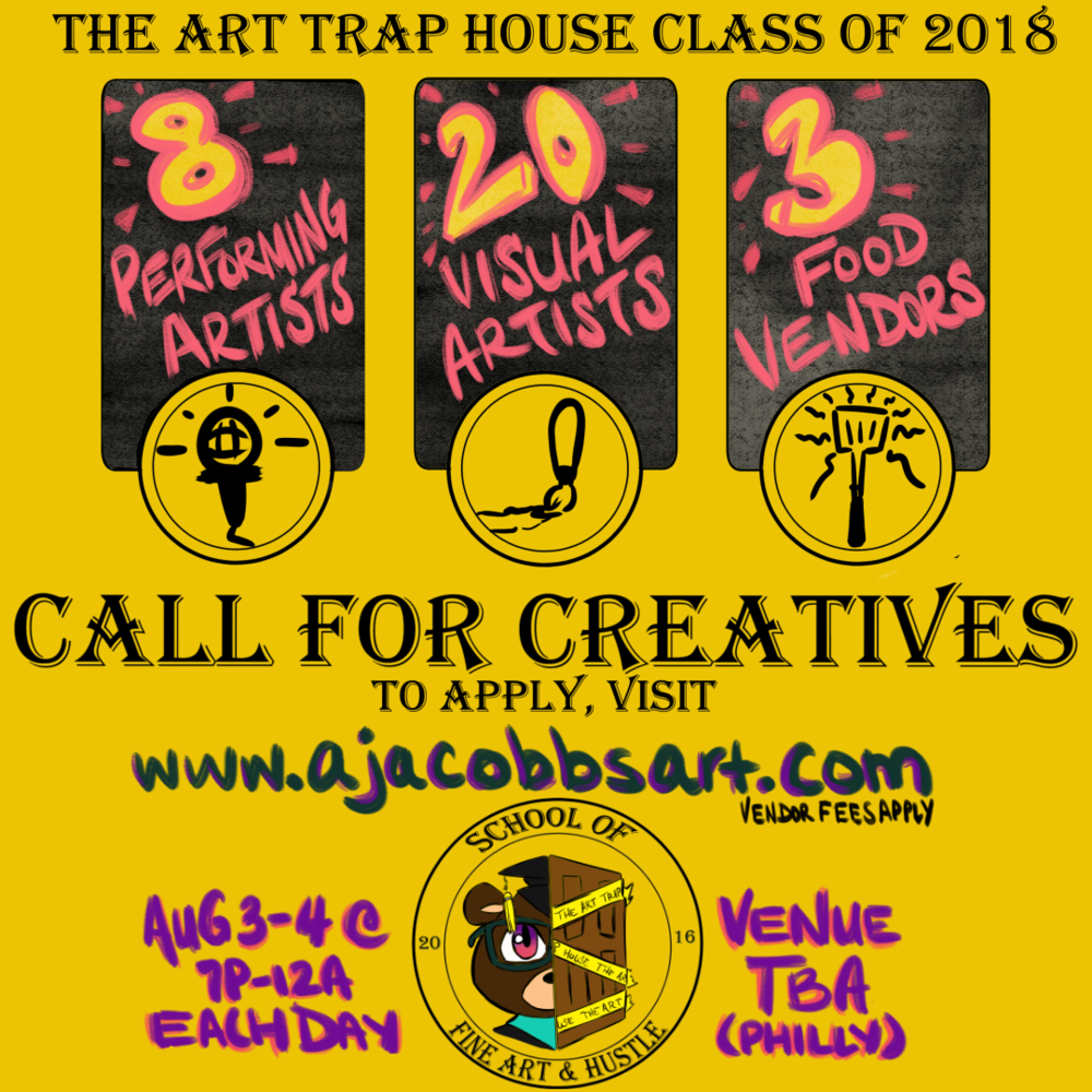 Artist Call Flyer for Arts Non-profit Festival (Instagram version)