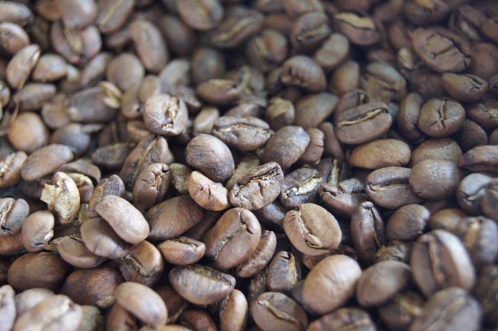 Café torréfié, torréfaction claire.