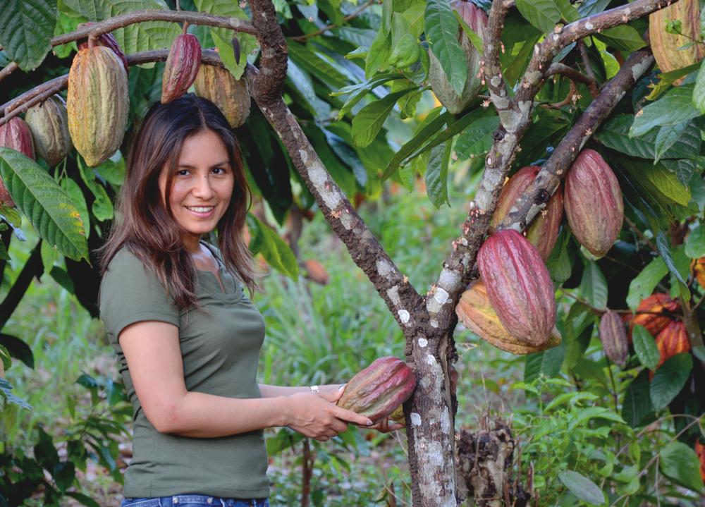 Marisol Najarro, Directrice de ForestFinance au Pérou -Crédit: ForestFinance