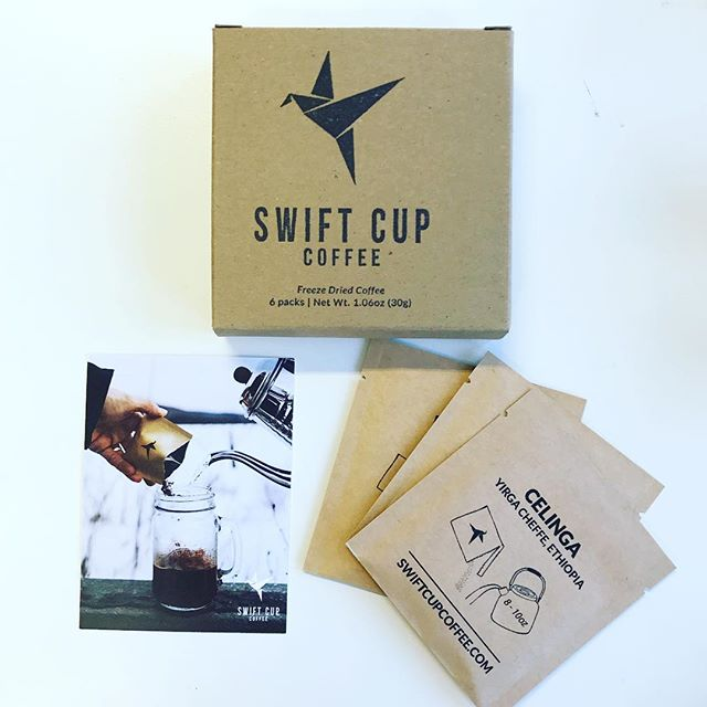 How about specialty instant coffee? @swiftcupcoffee made it happen and we are positively surprised by the result! ⚡️☕️⚡️ ••• #instantcoffee #specialtycoffee #coffeetime #takeawaycoffee #treckcoffee #discovery