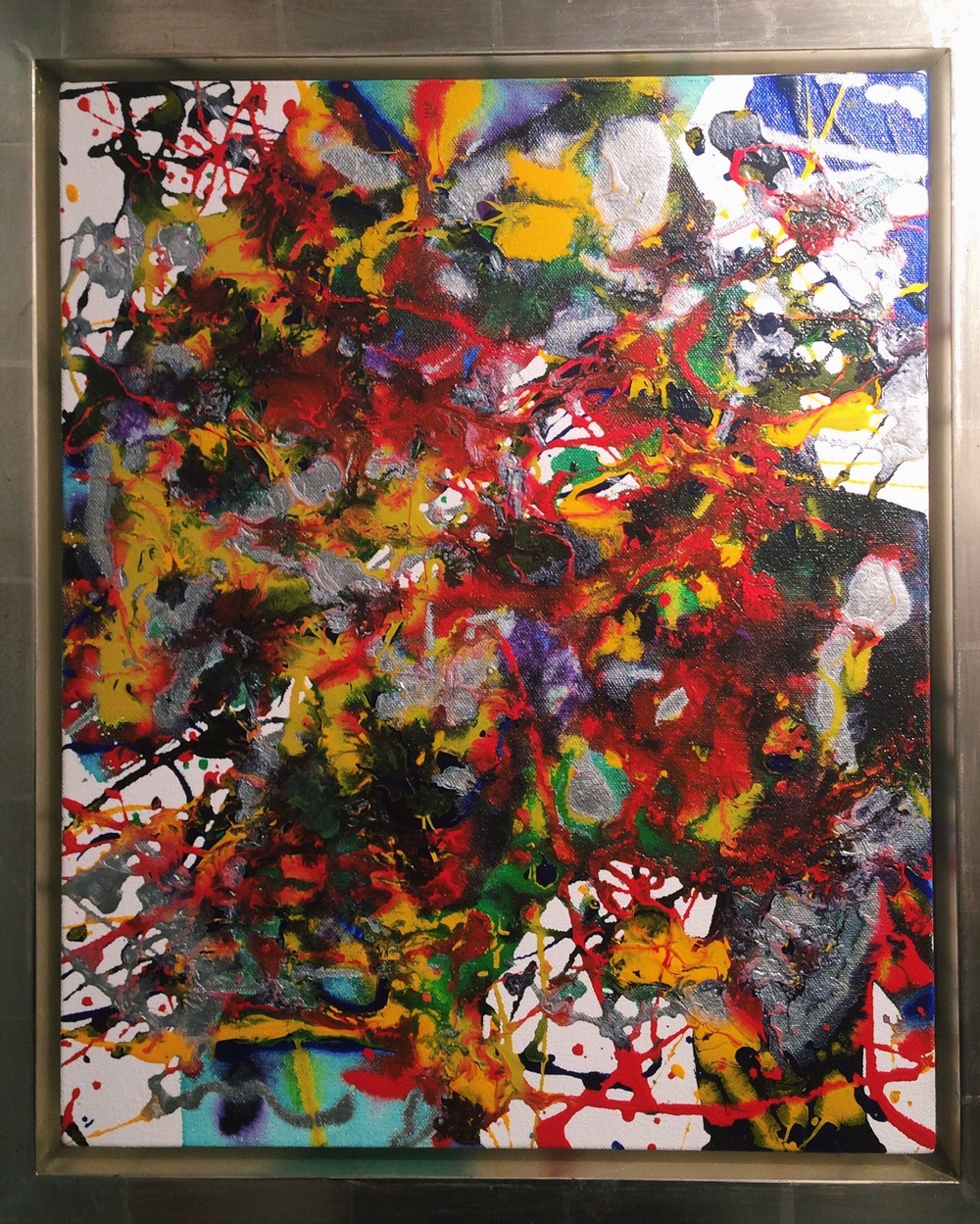 Last Works: Sam Francis Painting 94-029