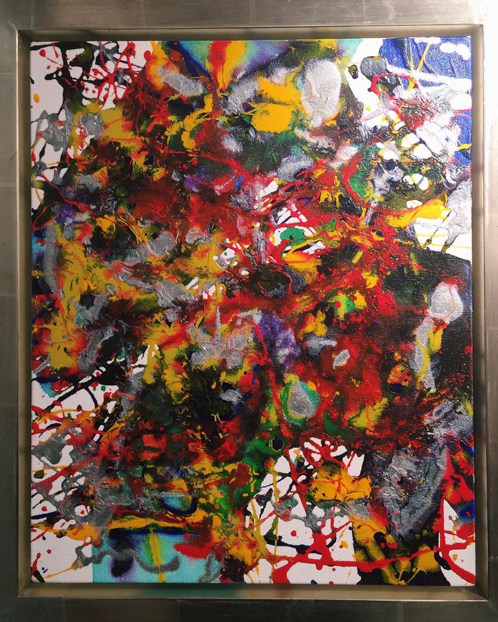 Last Works: Sam Francis Painting 94-029