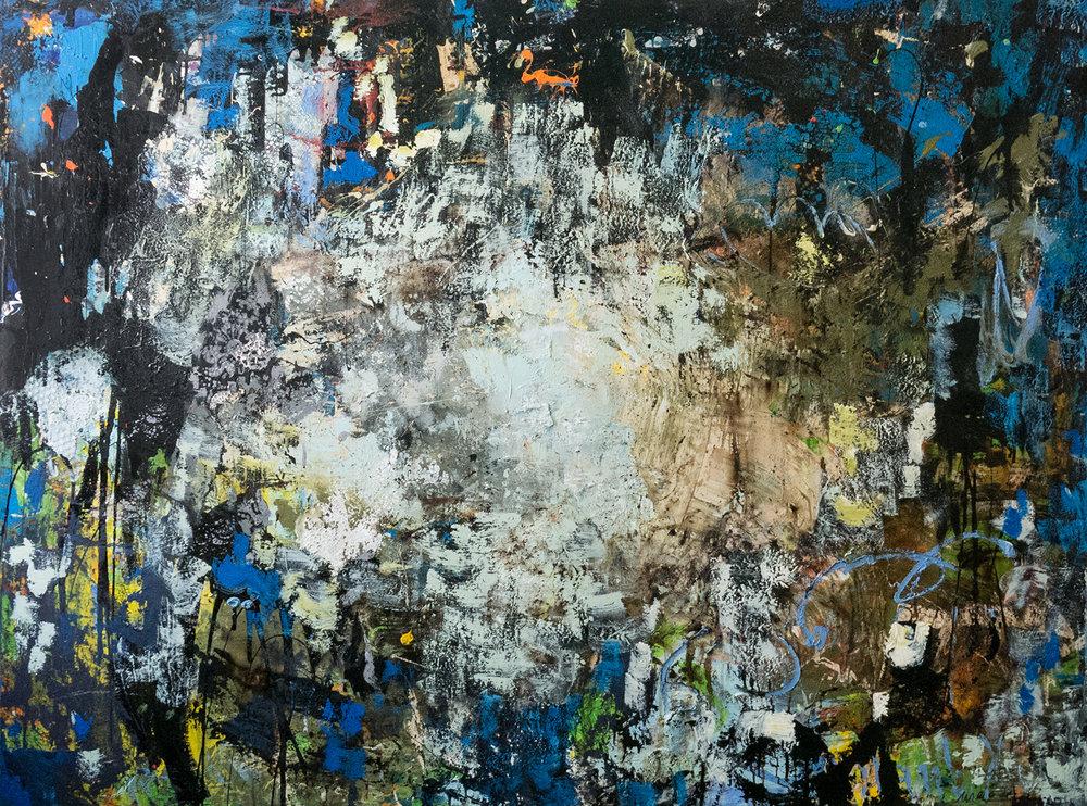 Abstrakt  2013_200x150cm_Mischtechnik auf Leinwand