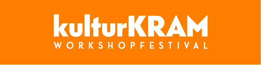 KulturKRAM är en workshop-festival där du kan välja bland en massa spännande saker: dans, musik, bild/form eller kanske film? Du bestämmer själv!   För mer info:  www.kulturkram.se  Kl 10-18. Kultur på Burk