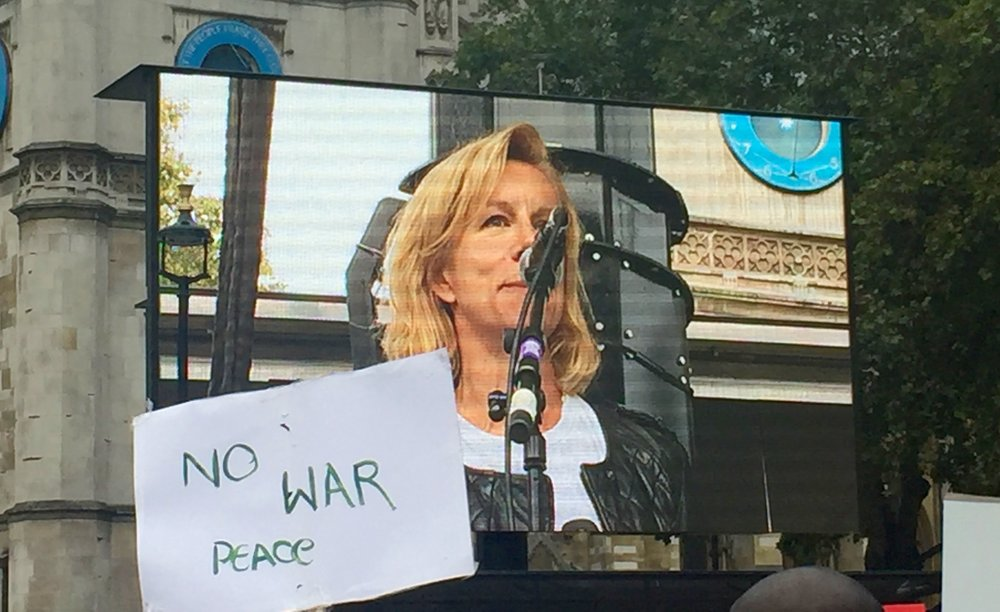 "Juliet Stevenson asks ""How many more children have to die before we step up to our responsibilities to get them over safely and legally?"""