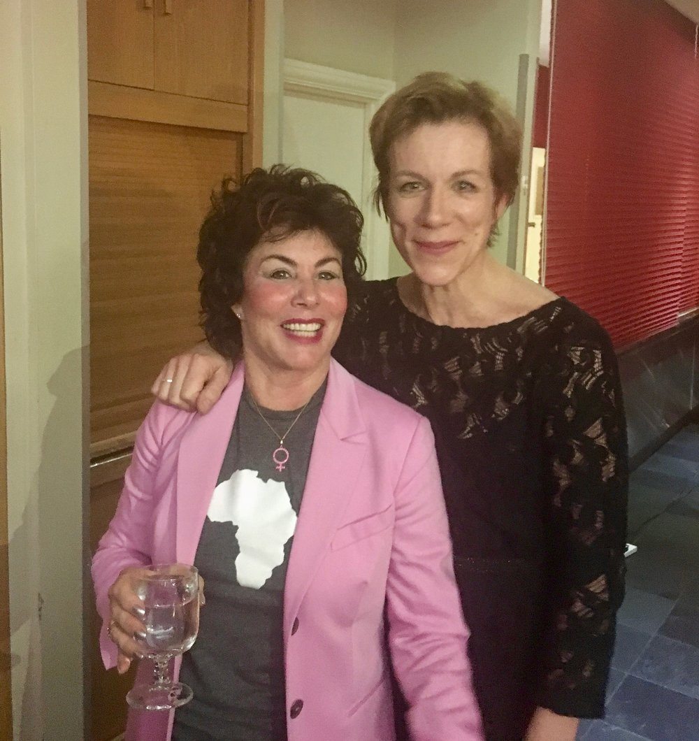 Ruby Wax and Juliet Stevenson - Entertainment Extraordinaire