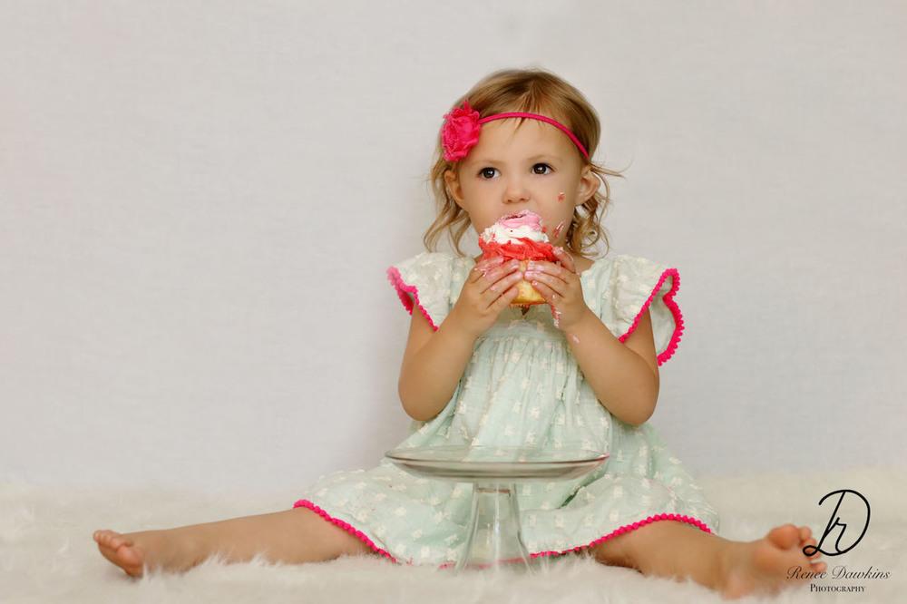 Cake Smash Tallahassee Children Photographer| Renee Dawkins Photography