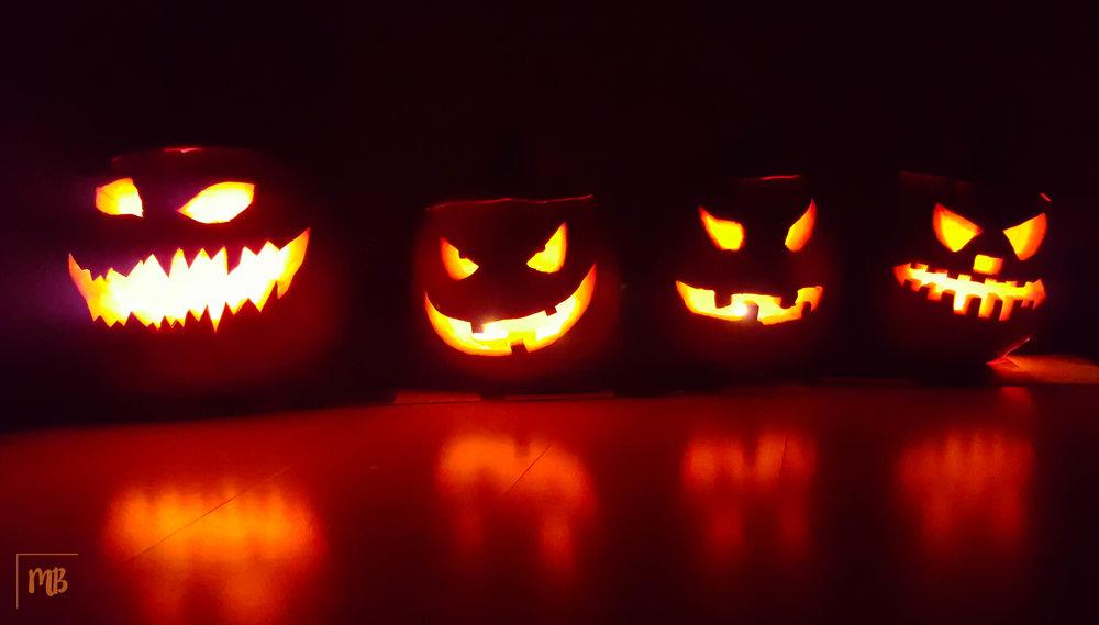We had SO much fun making these Halloween pumpkins last year.