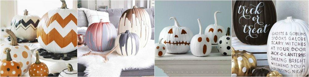 Halloween pumpkin ideas from Pinterest