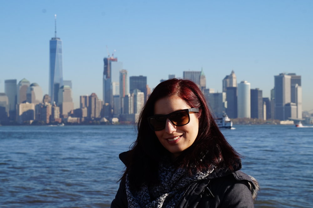 This photo was taken on Ellis Island :)