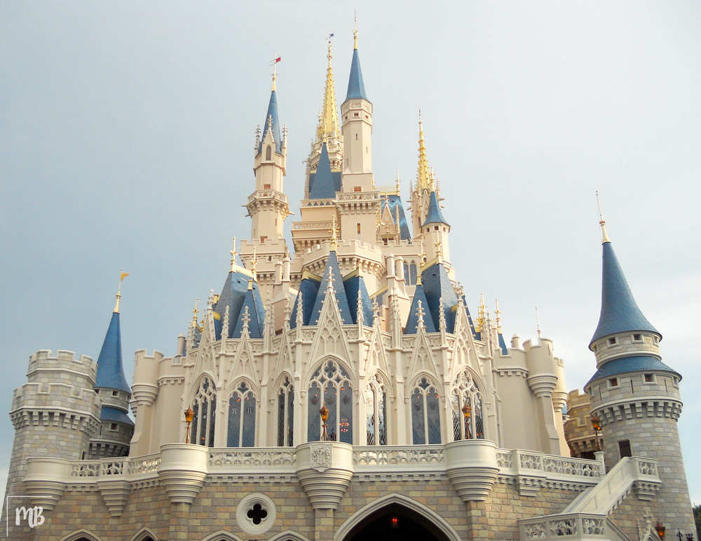 The park's centrepiece is Cinderella Castle