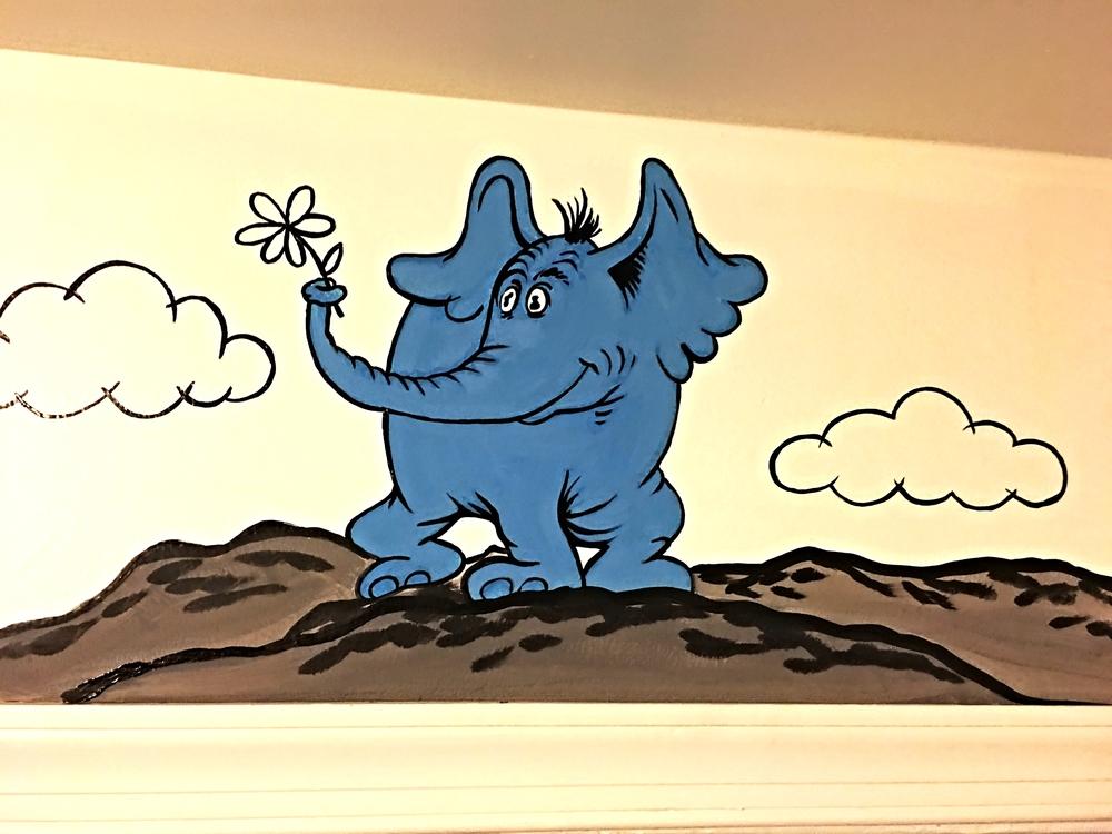 Dr. Seuss Nursery Border