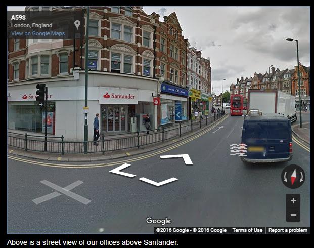 GG streetmap view