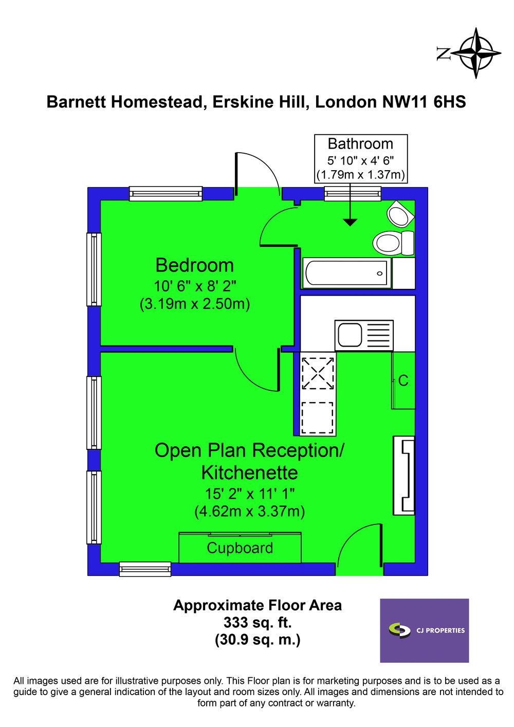 Flat 5, Barnett Homestead FP.jpg