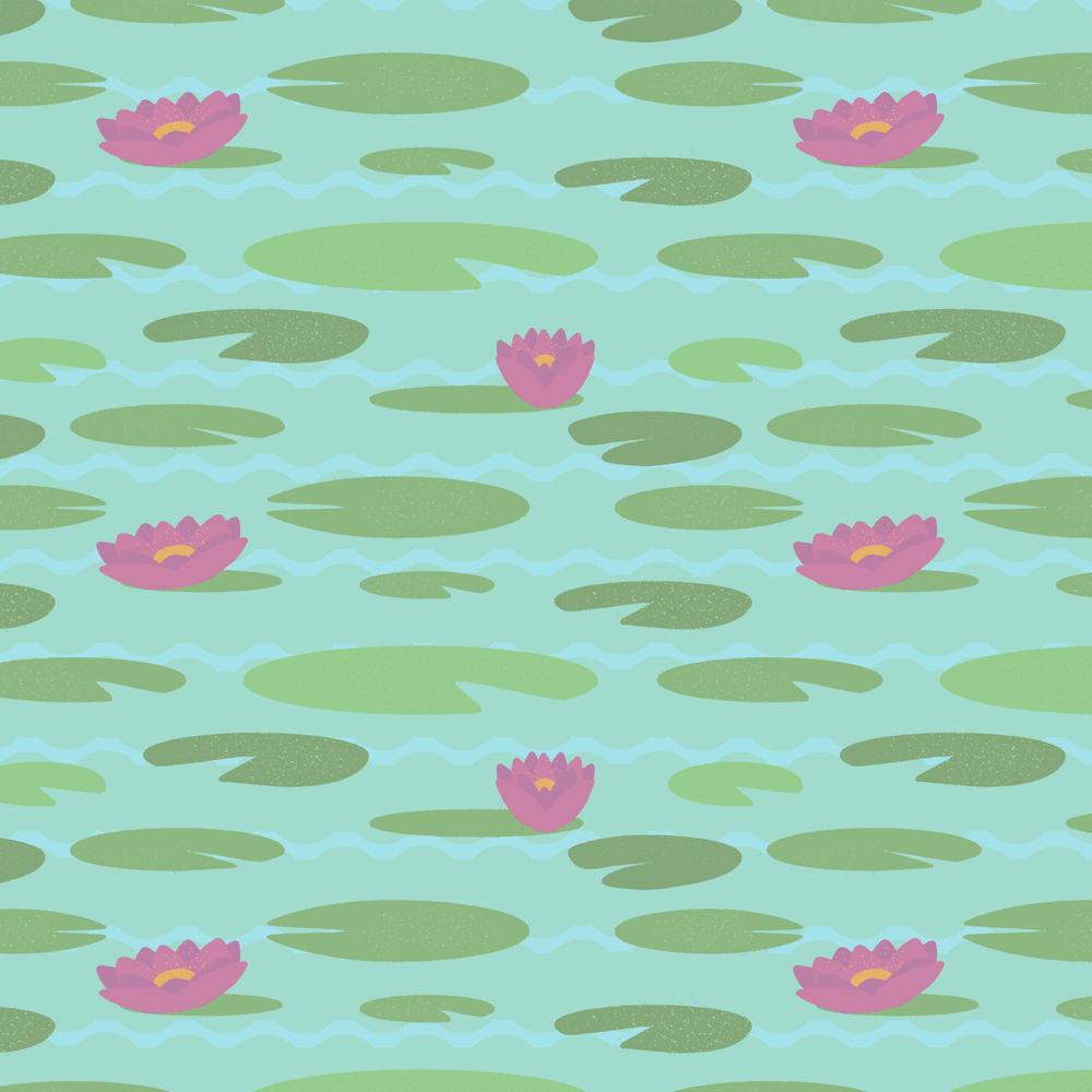 Florida Kitsch-Lily Pads Large - Society6 Shirt.jpg
