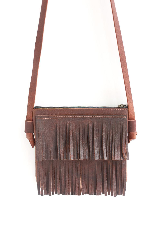 6aa169711ac0 Crossbody fringe bag - brown. leather-fringe.jpg