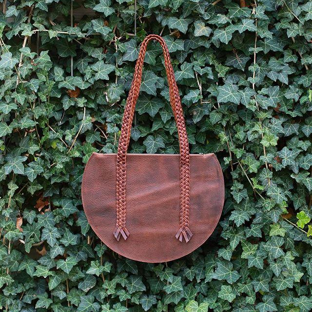 This beauty will be available tomorrow @columbus_flea . . #asseenincolumbus #shop614 #columbusflea #ohiomade #leatherbag #summerflea18