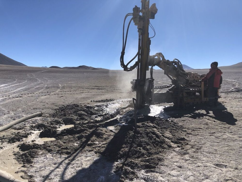 Drilling at Laguna Brava project