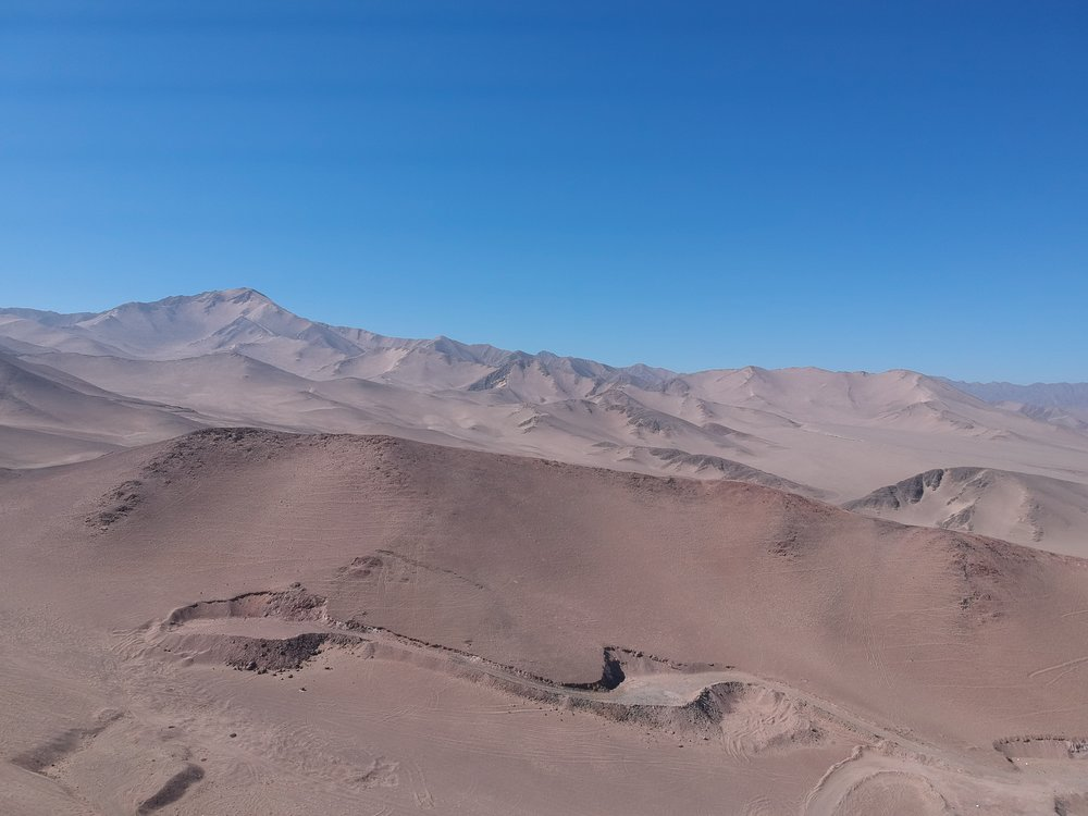 Aerial view of Atacama Cobalto Project (drone footage by Kura Minerals)