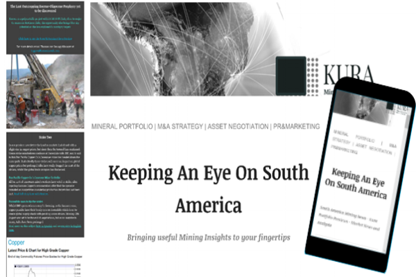 Keep Informed - Stay in touch!! Every other Tuesday you can receive latest news of the exploration and mining sector in Chile and South America. Review and suscribe.