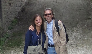 Carole Elchert, director/writer and Philip Sugden, Producer, on location in Cuba