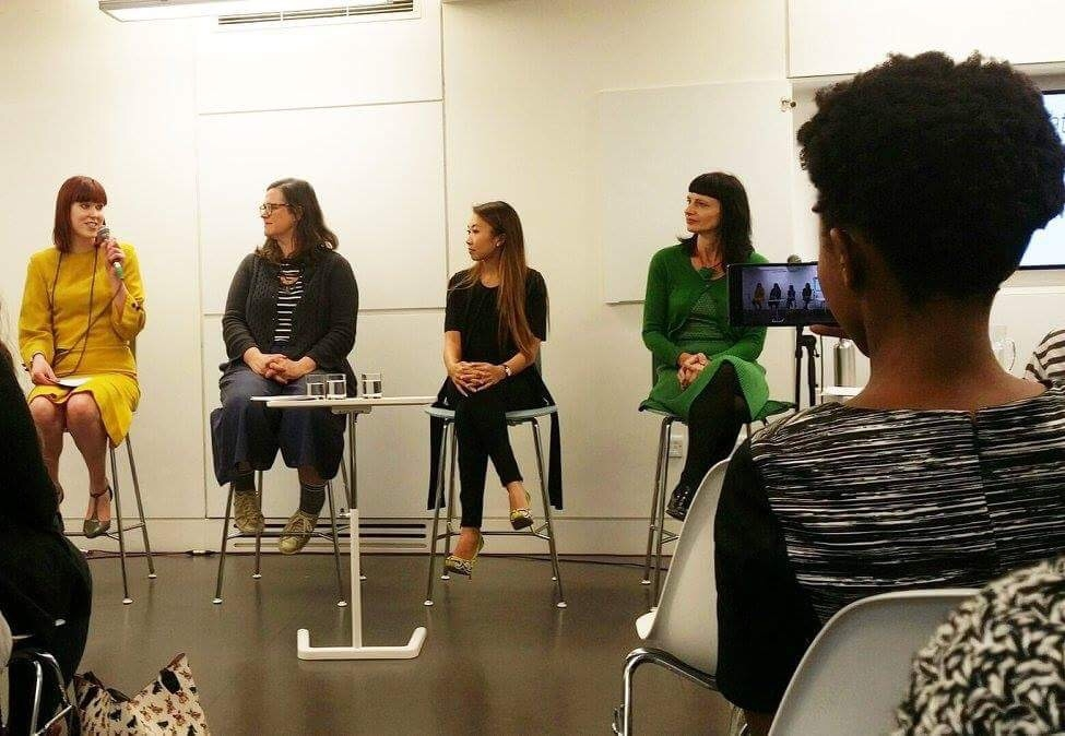 Olivia joined with the panelists for 'Can We Put An End to Sweatshop Labour?'